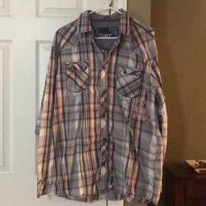 Buckle Roar button down shirt